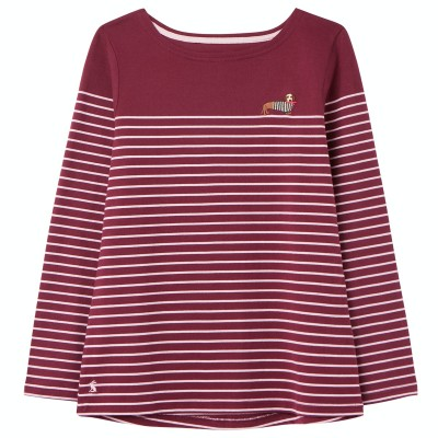 Joules Embroidered Harbour Top