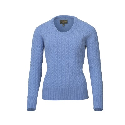 Laksen Burleigh Cable Knit Jumper