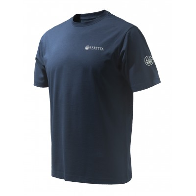 Beretta team SS T- Shirt in Navy