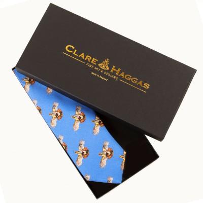 Clare Haggas Higher Flyer Cobalt Tie