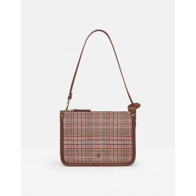 Joules Fulbrook Underarm Tweed Bag